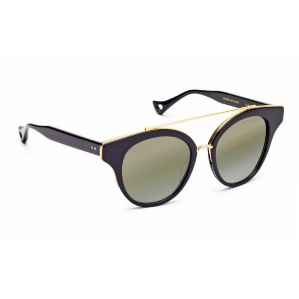 Dita Branded Black Frame Sunglasse